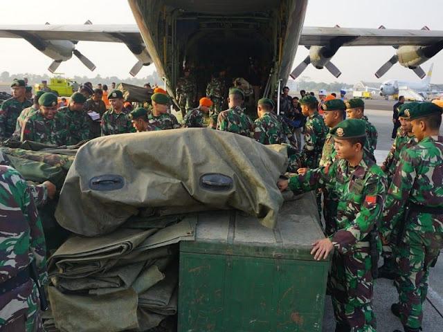50 Satgas Kesehatan TNI Diberangkatkan ke Donggala Sulawesi Tengah