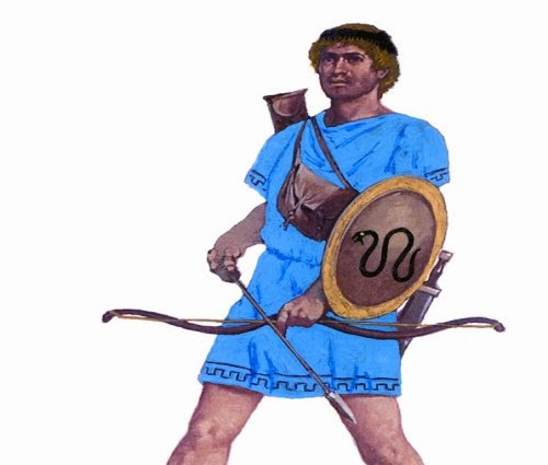 Painting Auxiliaries Cretan Archers picture 1