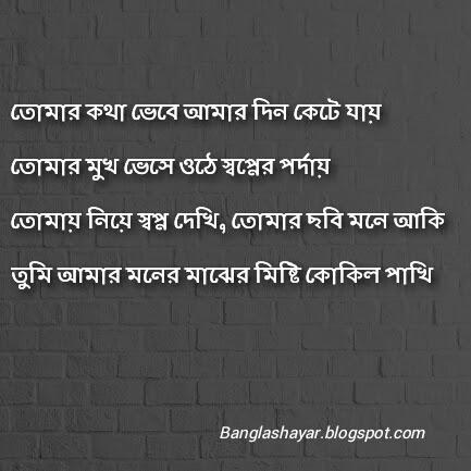 Best Bengali Love Poem Bangla