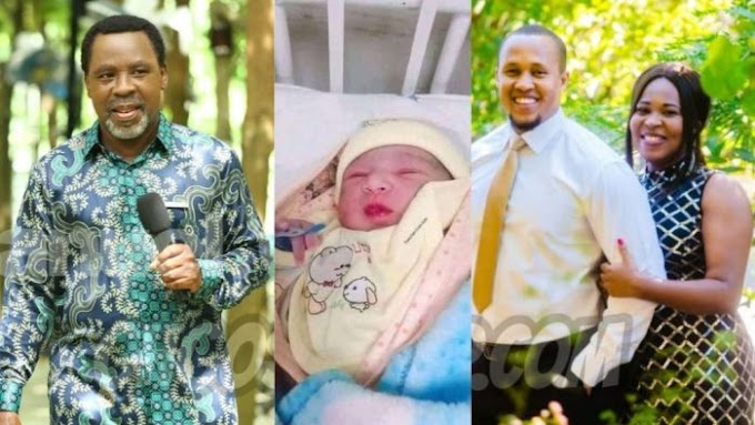 WOW!! TB Joshua's Daughter Welcomes Baby Boy On Her Father's Birthday