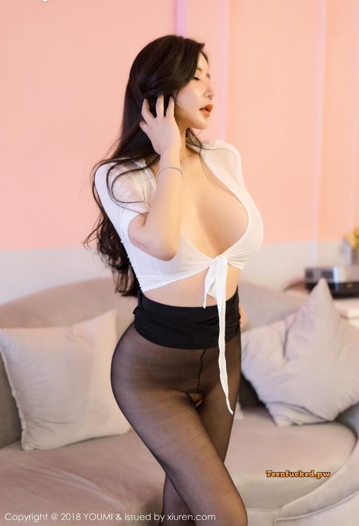 YouMi Vol.222 MrCong.com 032 wm - YouMi Vol.222: Người mẫu 心妍小公主 (45 ảnh)