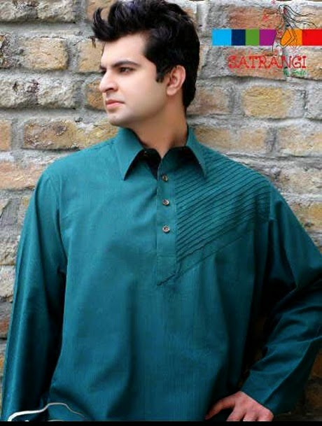 http://www.funmag.org/fashion-mag/fashion-apparel/latest-kurta-design-for-men-by-satrangi/