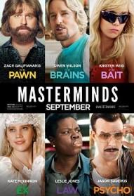 Masterminds (2016) HDCam 550MB