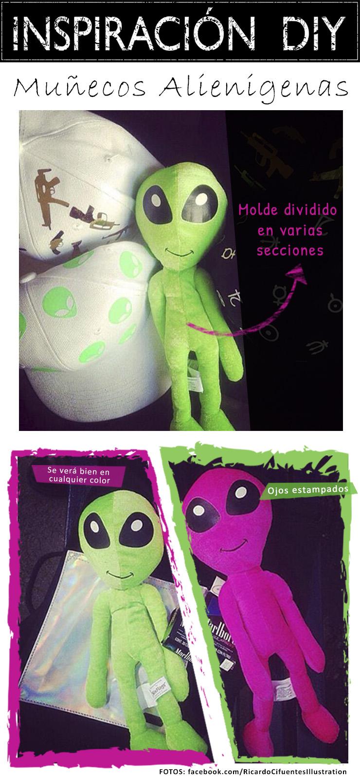 inspiracion diy muñecos alienigenas extraterrestres