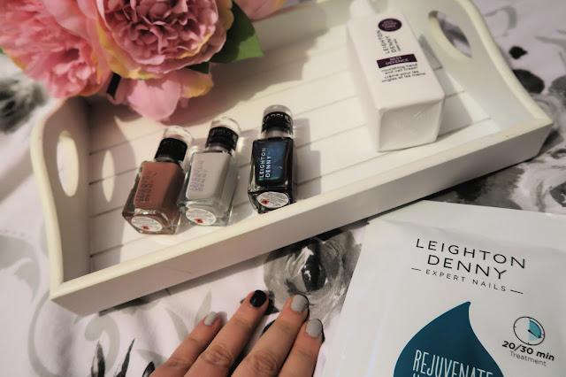 Danielle Levy, Leighton Denny, Leighton Denny nail polish, hand mask, nurse blogger, Alex Silver PR, Wirral blogger, Liverpool blogger,