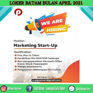 Lowongan Kerja Marketing Start-Up