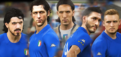 PES 2019 Classic Facepack Italy 2006 by MictlanTheGod