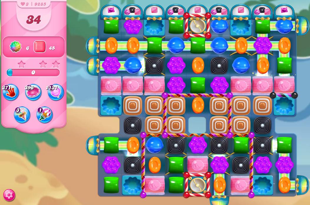 Candy Crush Saga level 9285