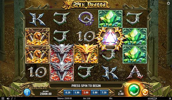 Main Gratis Slot Indonesia - 24K Dragon (Play N GO)