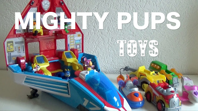 paw patrol mighty pups toys speelgoed
