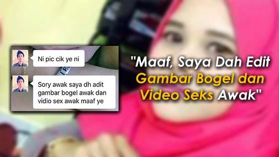 Lelaki Mengaku Edit Gambar Bogel dan Video Seks Seorang Wanita