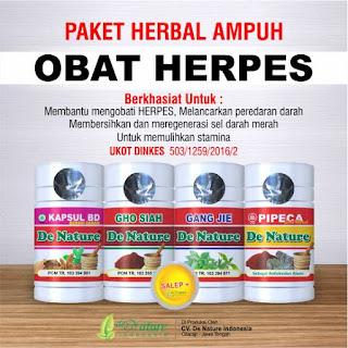 obat herpes de nature