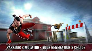تحميل لعبة Parkour Training Vector Simulator 3D apk للأندرويد للمغامرة بين المبانى