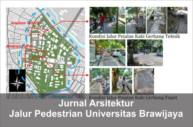 jurnal arsitektur kenyamanan jalur pedestrian