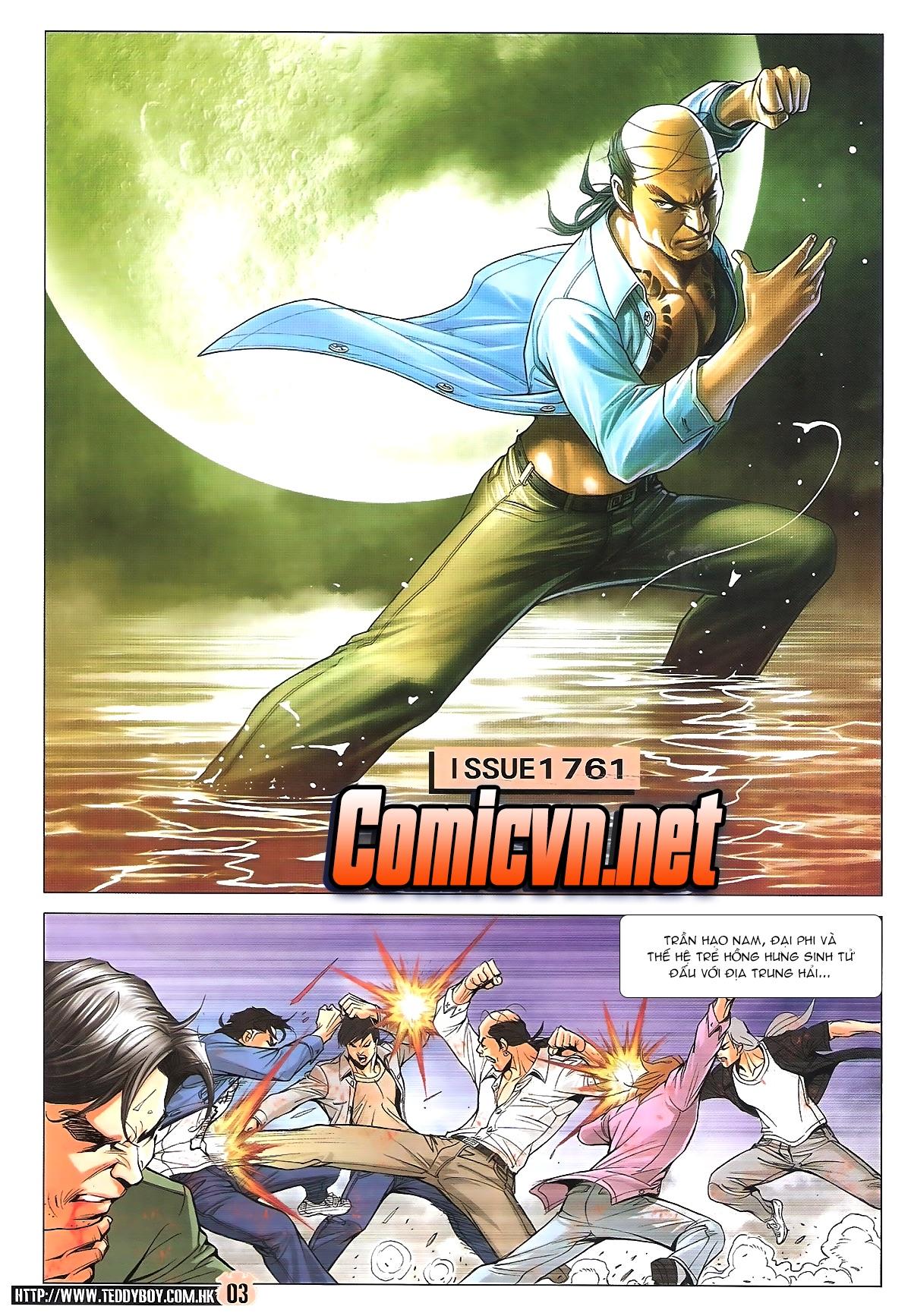 Người Trong Giang Hồ chapter 1761: thủy chiến trang 2