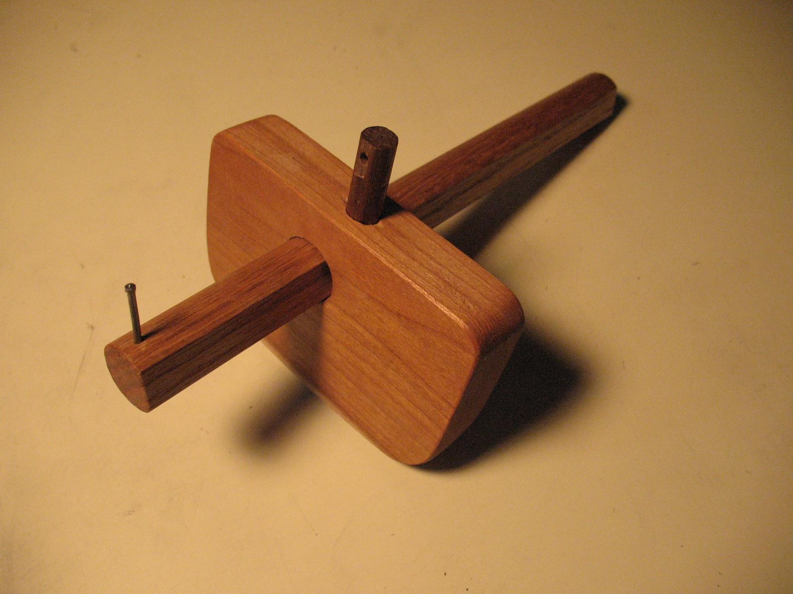 Make A Marking Gauge In 15 Minutes Woodys Diy Furniture