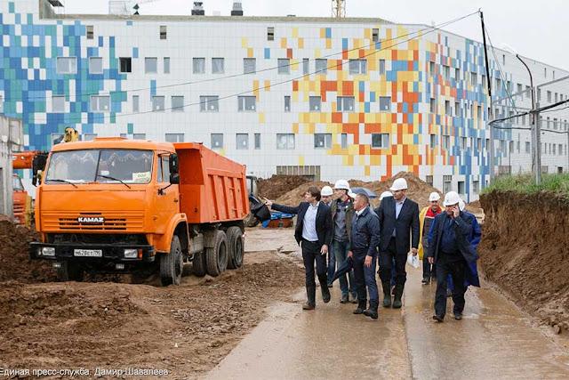 Герман Елянюшкин прошёлся коридорами родильного дома Сергиев Посад