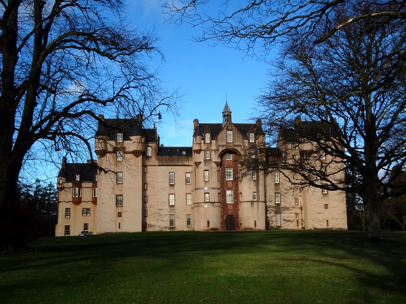 Fyvie Castle in Scotland