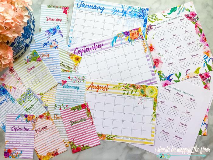 Printable Calendar 2022