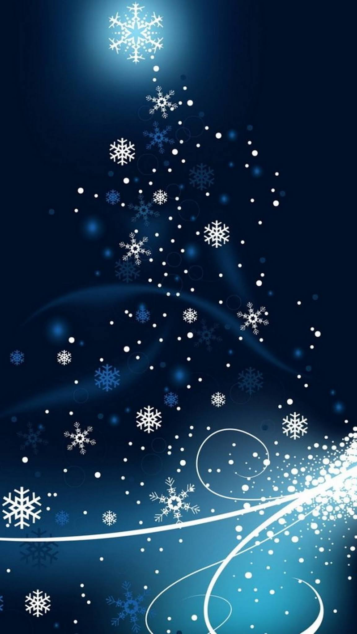 Christmas Abstract HD Wallpaper for iPhone