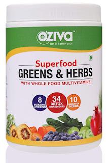 OZiva Superfood Greens & Herbs