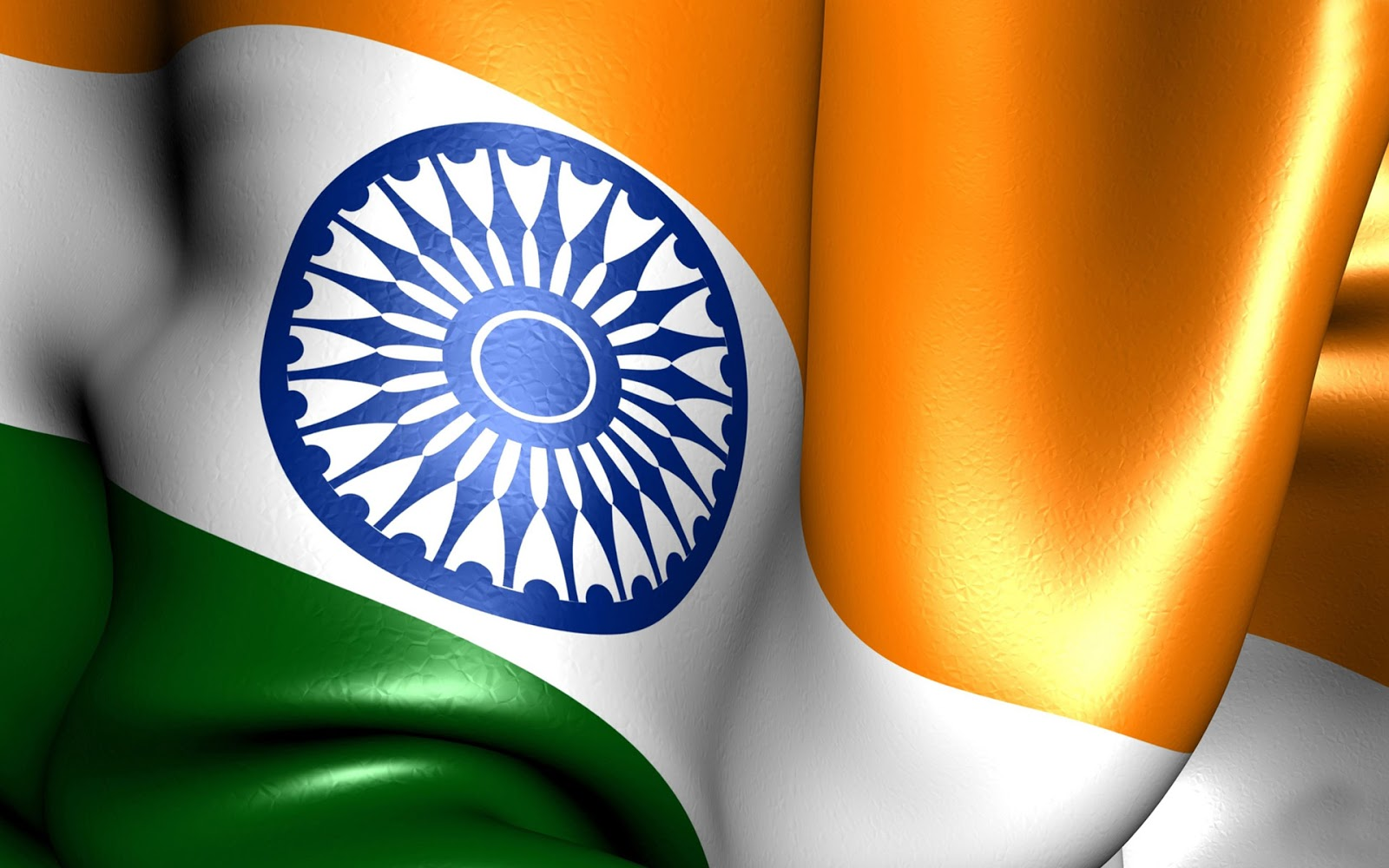 Flower With Indian Flag Hd: Independence Day Pecial-3D Indian Flag