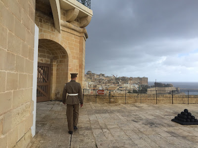 The Saluting Battery La Valletta.