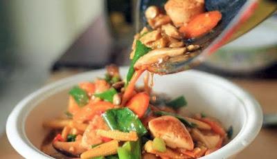 Resep Masakan Enak Sapo Tahu Ayam Jamur