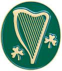 IRISH HARP PIN