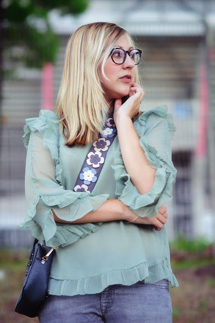How to Mintgrün Pastellfarben kombinieren Blondine Fashion Blogger Modeblog ootd Look Outfit