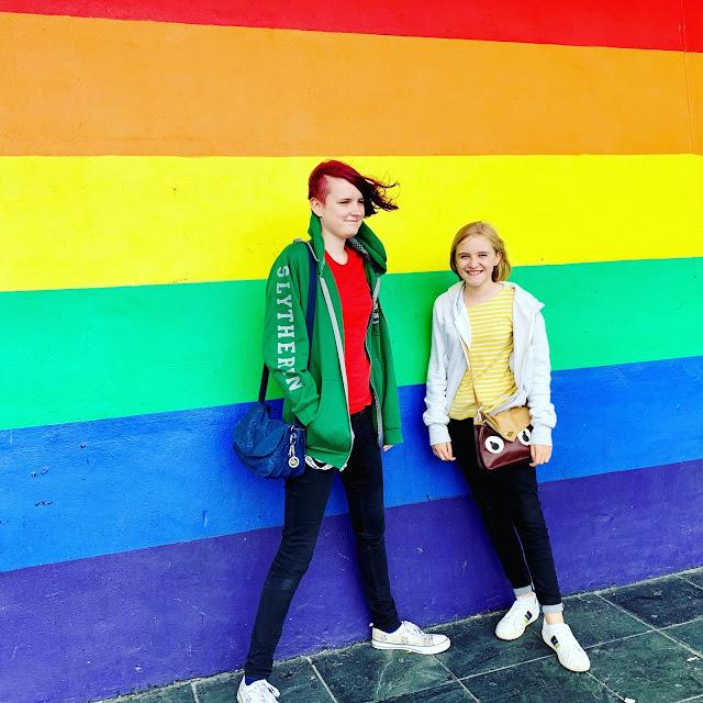 Brighton Pride Flag Wall