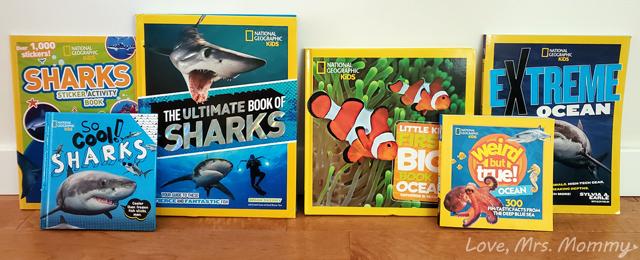 national geographic kids, nat geo kids, nat geo kids shark, shark books, giveaway