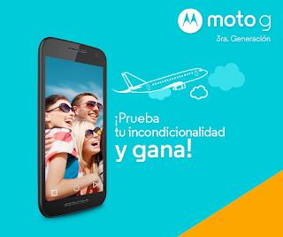 Gana un Smartphone Moto G 3ra Generación o un Viaje doble a Iguazú