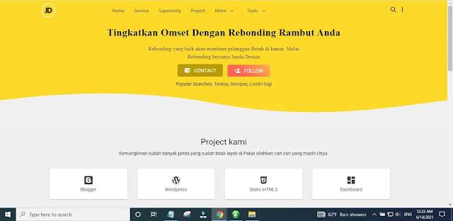 Features Of Janda Design Blogger Template