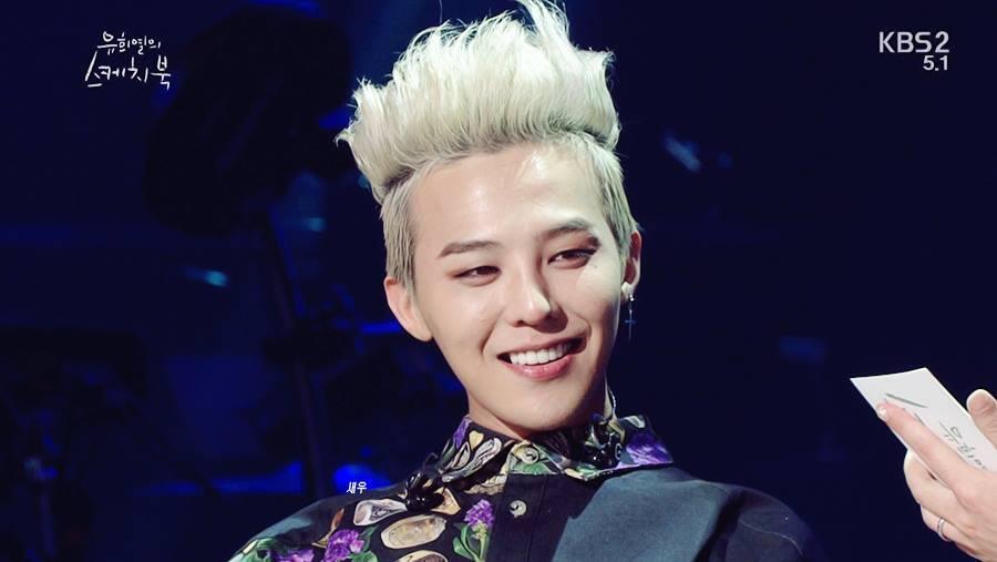 G Dragon Performs At Yoo Hee Yeols Sketchbook
