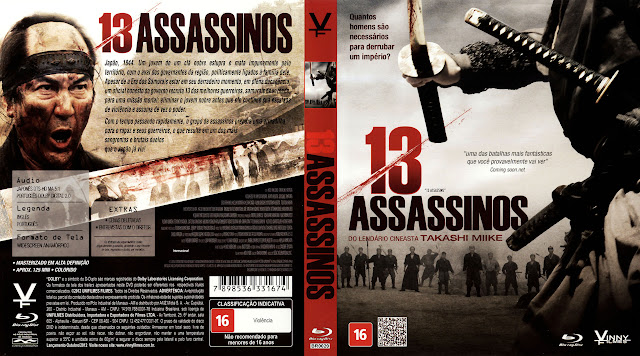 Capa Blu-ray 13 Assassinos