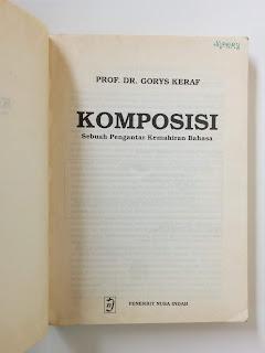 Komposisi (Prof. Dr. Gorys Keraf)