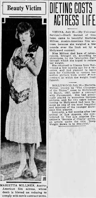 Marietta Millner Death