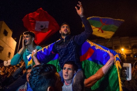 """إضراب ومسيرة للمطالبة بحرّيّة """"معتقلي الريف"""""""