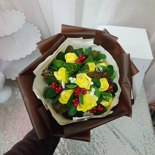 Hoa hong sap thom vinh cuu o Thanh Xuan