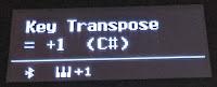 ES520 transpose OLED display info