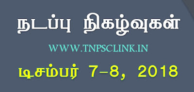 TNPSC Current Affairs December - Download PDF