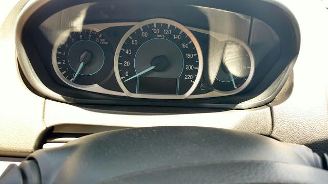 Ford Ka painel de instrumentos sem termômetros de água