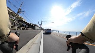 GoPro Max 360度映像1 江ノ電と七里ヶ浜
