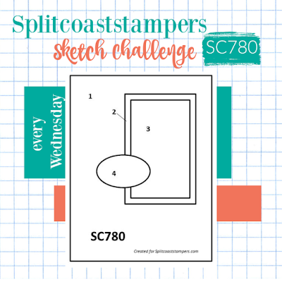 Splitcoaststampers Sketch Challenge 780