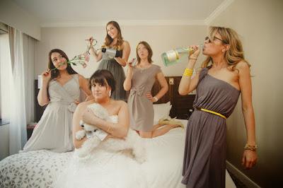 Ideas Damas de honor divirtiendose - Blog Odilia Bridal