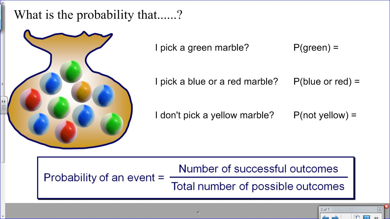 Probability Worksheet Ks3