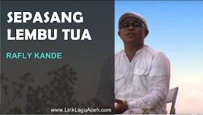 Lirik Lagu Sepasang Lembu Tua Rafly Kande