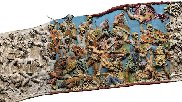 La columna de Trajano es un monumento conmemorativo erigido en Roma hace 1900 años por orden del emperador Trajano y se encuentra en el Foro de Trajano, al norte del Foro Romano.
