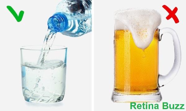 الماء و الشراب